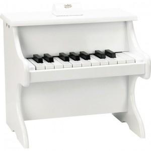 PIANO DE MADEIRA - BRANCO