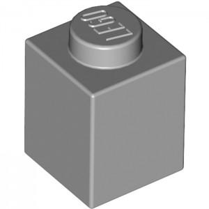 LEGO 1 ENCAIXE - CINZA MÉDIO