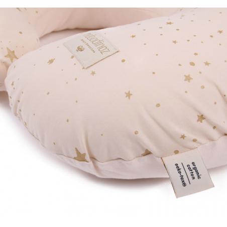 almofada amamentação pequena gold stella d.pink