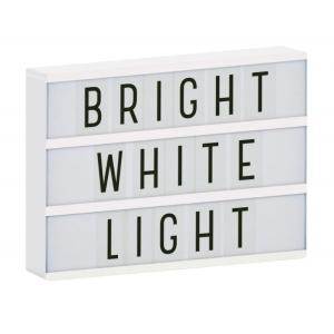 LIGHTBOX A4 - BRANCO