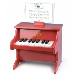 PIANO DE MADEIRA - VERMELHO