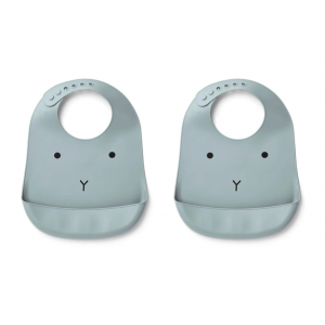 2 BABETES SILICONE - RABBIT...