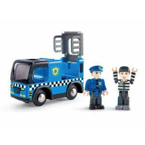 CARRO DA POLÍCIA COM SIRENE