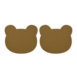 2 INDIVIDUAIS - BEAR OLIVE...