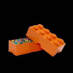LEGO 8 ENCAIXES - LARANJA