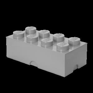 LEGO 8 ENCAIXES - CINZA MÉDIO