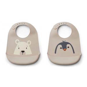 2 babetes silicone ártico