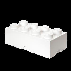 LEGO 8 ENCAIXES - BRANCO