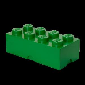 LEGO 8 ENCAIXES - VERDE ESCURO