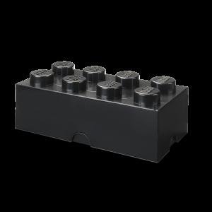 LEGO 8 ENCAIXES - PRETO