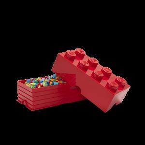 LEGO 8 ENCAIXES - VERMELHO