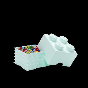 LEGO 4 ENCAIXES - VERDE ÁGUA