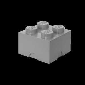 LEGO 4 ENCAIXES - CINZA MÉDIO