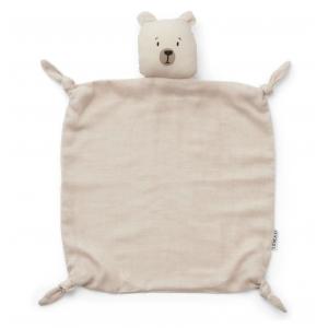 Doudou urso polar bege