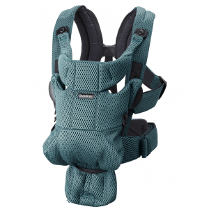 Babyjorn baby carrier move frontal sage green 3D mesh
