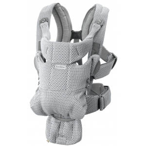 Babyjorn baby carrier move frontal grey 3D mesh