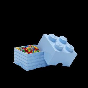 LEGO 4 ENCAIXES - AZUL PASTEL