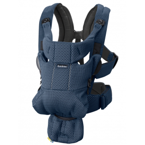Babyjorn baby carrier move frontal navy blue 3D mesh