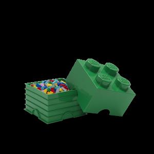 LEGO 4 ENCAIXES - VERDE ESCURO