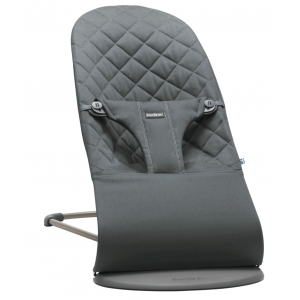 Babybjorn bouncer bliss anthracite, cotton