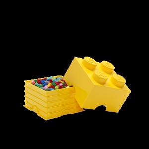 LEGO 4 ENCAIXES - AMARELO