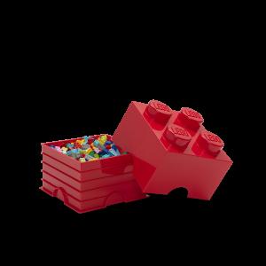 LEGO 4 ENCAIXES - VERMELHO