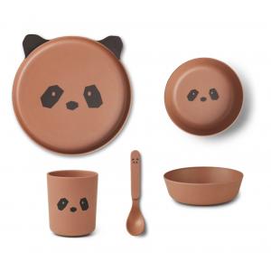 Conjunto refeição Panda