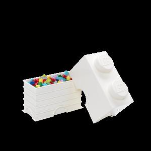 LEGO 2 ENCAIXES - BRANCO