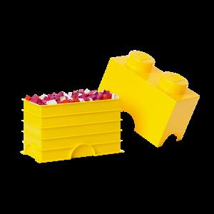 LEGO 2 ENCAIXES - AMARELO
