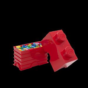 LEGO 2 ENCAIXES - VERMELHO