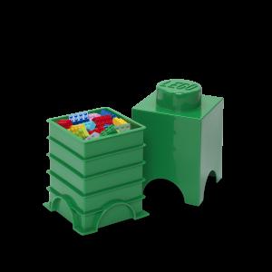 LEGO 1 ENCAIXE - VERDE ESCURO