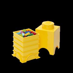 LEGO 1 ENCAIXE - AMARELO