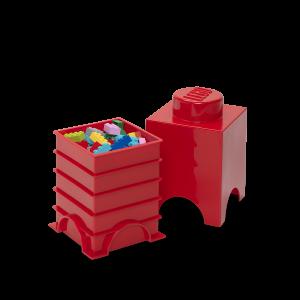 LEGO 1 ENCAIXE - VERMELHO