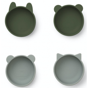 4 TIGELAS - HUNTER GREEN MIX