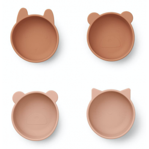 4 TIGELAS - TUSCANY ROSE MIX