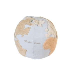 PUFF LORENA CANALS - WORLD MAP