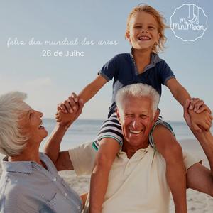 Os avós criam memórias que o coração guarda para sempre. Feliz dia Mundial dos Avós 🥰 ⠀⠀⠀⠀⠀⠀⠀⠀⠀⠀ 🖥 www.myminimoon.com 📩 shop@myminimoon.com 📞 223 252 987  965 467 237 ⠀⠀⠀⠀⠀⠀⠀⠀⠀⠀ #MyMiniMoon #BabyAndChildLifeStyle #BabyCare #MadeInPortugal #Baby #Bebé #Criança #LojaDeBebés #TudoParaOSeuBeBé #BabyFashion #BabyShop  #DiaDosAvós #Avós #GrandparentsDay